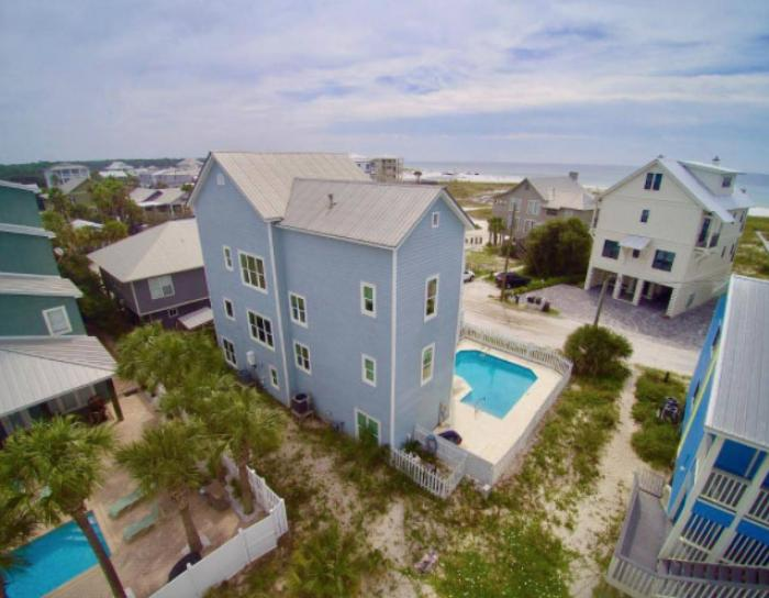 View from a Grayton beach vacation rental