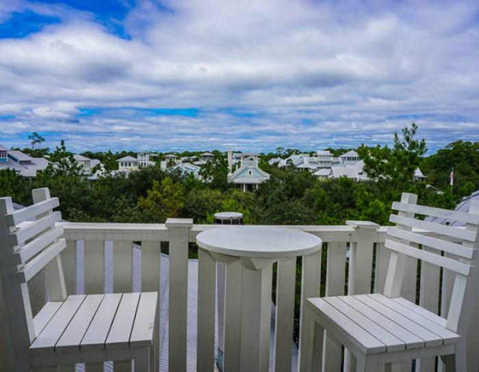 View from a vacation rental in Watercolor, FL